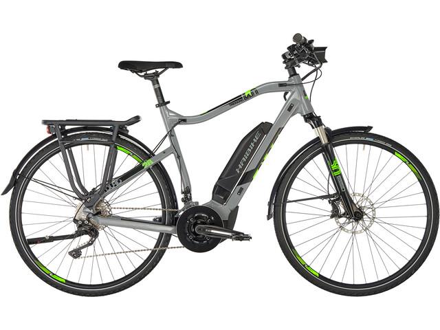 HAIBIKE SDURO Trekking 4.0 Herr grey/black/green